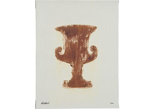 Accessories - Urn Design in Terra Cotta & Ivory - V
