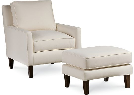 Highlife Chair and Ottoman (1010-02)