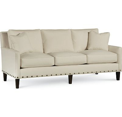 Highlife 3 Seat Sofa with Nails (1313-02)
