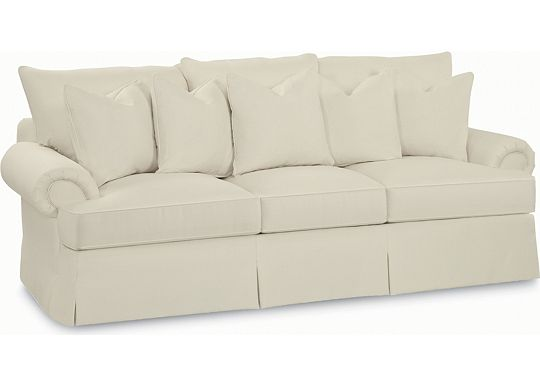 Portofino Large Sofa (Dropped Fabric 1293-01)