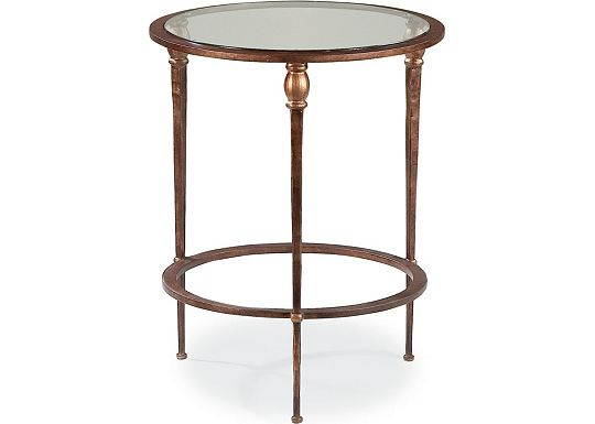 Stiletto - Round Accent Table