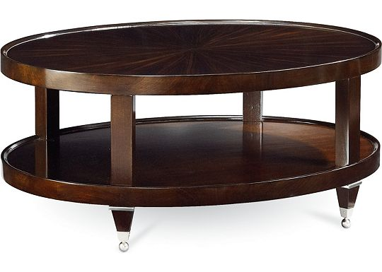 Spellbound - Oval Cocktail Table
