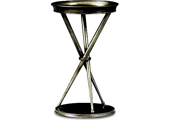 Spellbound - Metal Chairside Table