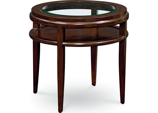 Lantau - Round Lamp Table
