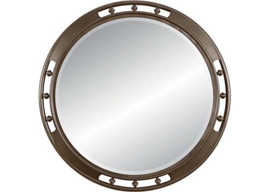 American Anthem - Round Mirror