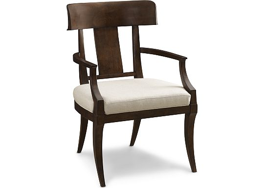 Harlowe & Finch - Mykonos Arm Chair (1000-03)
