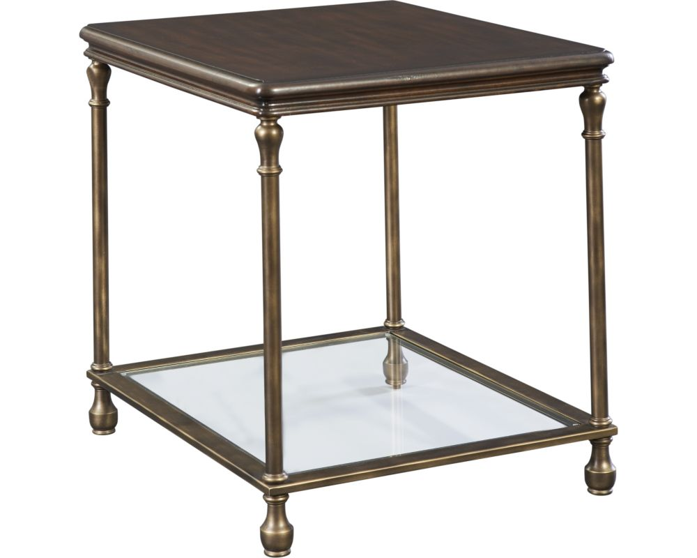 Metal Accent End Table