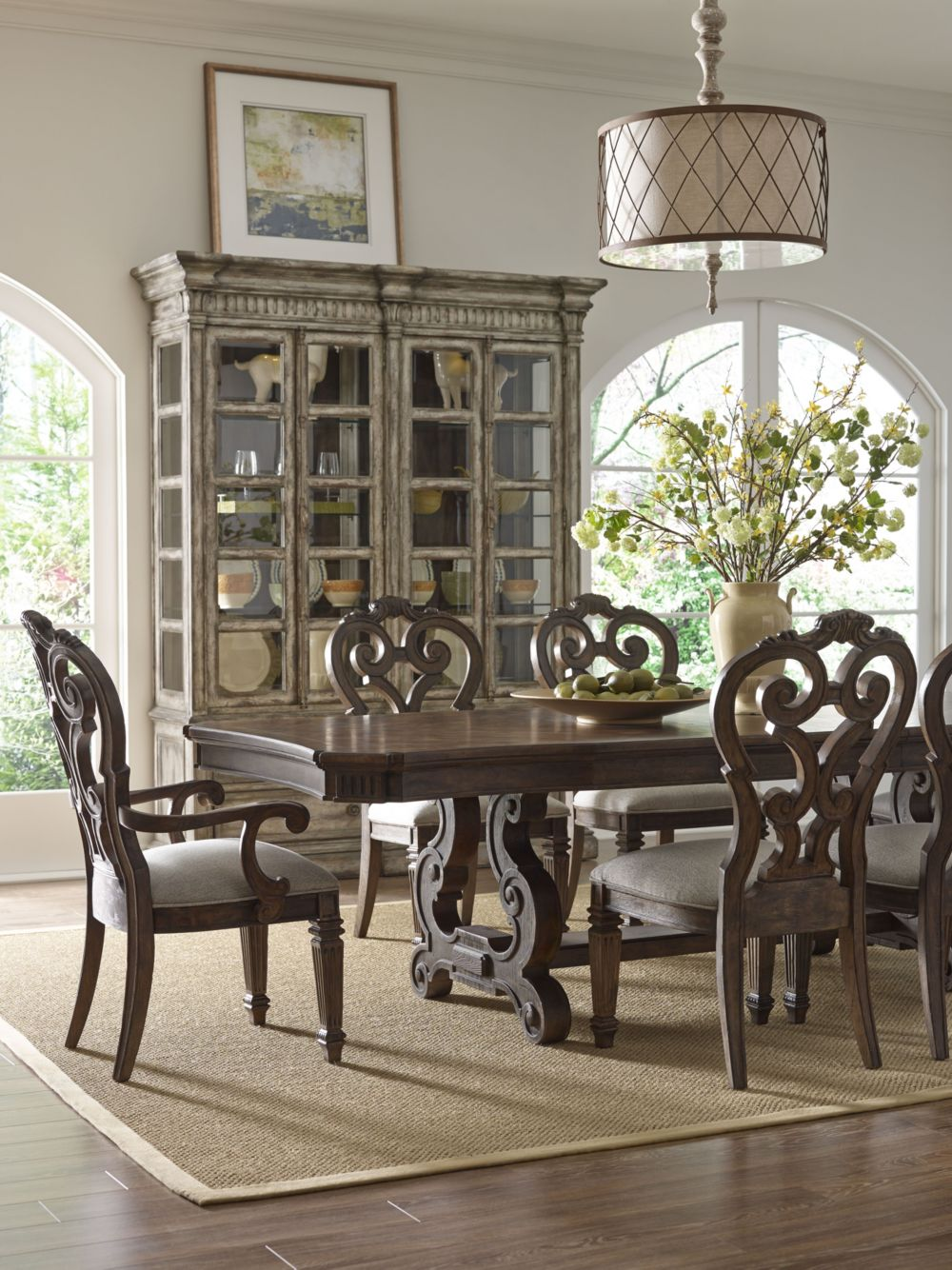 Stella Trestle Dining Table