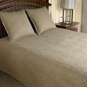 Avondale Bowen Queen Coverlet - Brown