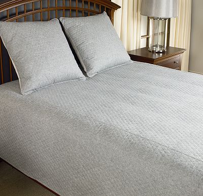 Accessories - Top of Bed - Awakenings - Avondale Bowen Queen Coverlet - Slate