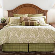 Charleston Park Comforter Set (Super Queen)