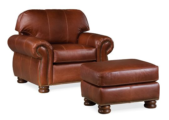 Benjamin Chair and Ottoman (0609-07)