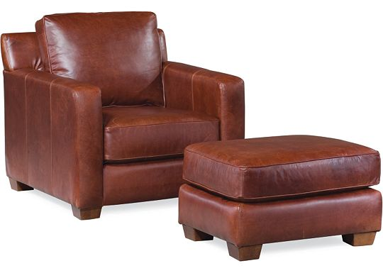 Metro Chair and Ottoman (0609-07)