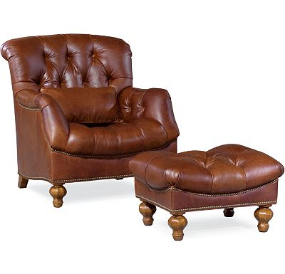 Walden Chair and Ottoman (0609-07)
