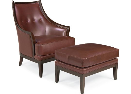 Madrid Chair and Ottoman (0609-07)