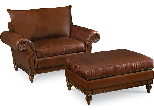 Calgary Chair and Ottoman (0609-07)