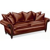 Calgary Sofa with Scatterback Pillows