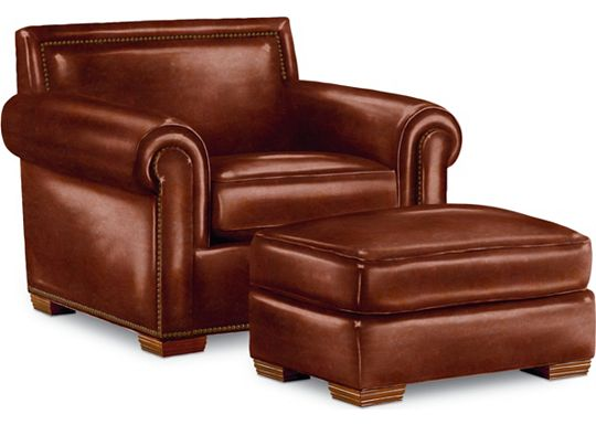 Fremont Chair and Ottoman (0609-07)