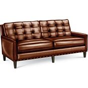 Highlife Biscuit Back Sofa with Nails