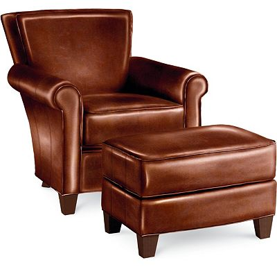 Sable Chair and Ottoman (0609-07)