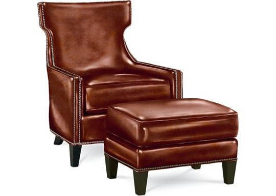 Hutton Chair and Ottoman (0609-07)
