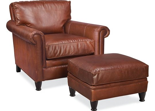 Mercer Chair and Ottoman (0609-07)