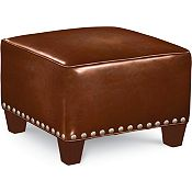 Brooklyn Square Plain Top Ottoman