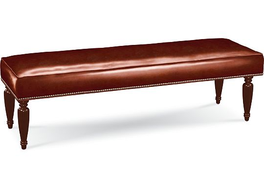 Cambria Turned Leg Bench (0609-07)