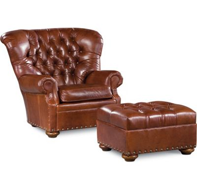 Winslow Chair and Ottoman (0609-07)