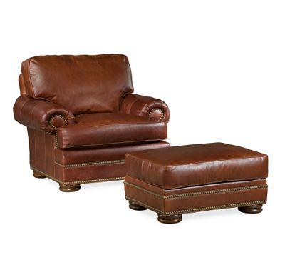 Ashby Chair and Ottoman (0609-07)