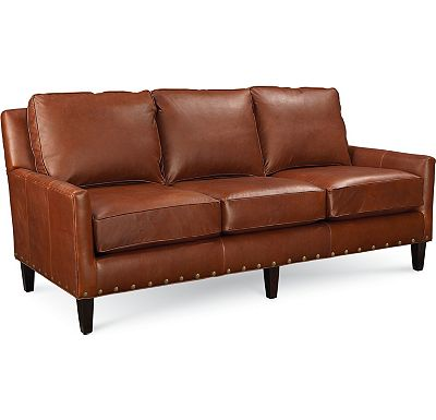 Highlife 3 Seat Sofa with Nails (0609-07)