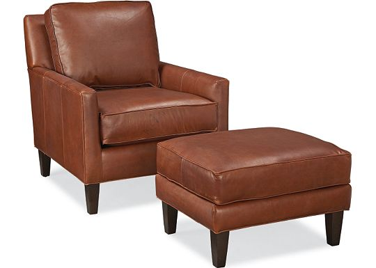 Highlife Chair and Ottoman (0609-07)