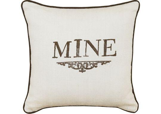 Accessories - Rustique Birch Block-Printed Throw Pillow