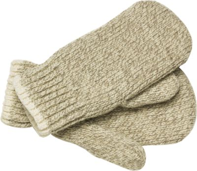 Ragg Wool Mittens available at The Vermont Country Store