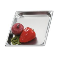 "Vollrath® 30112 S/S 2/3 Size x 1.25"" D Steam Table Pan"