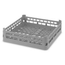 Full Size Medium Open Rack, Gray, 19-3/4x19-3/4x5-1/2