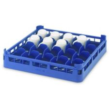 Vollrath® 5267570 Royal Blue Full Size Short 20-Cup Rack