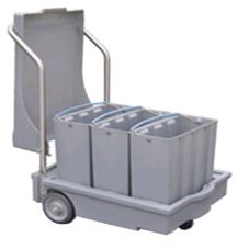 Follett 112771 Mobile Ice Bin With 3 Totes