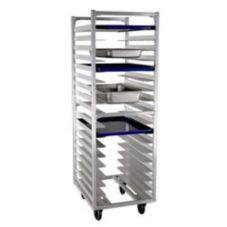 New Age 1335 Aluminum Roll-In End-Loading Refrigerator Proofer Rack