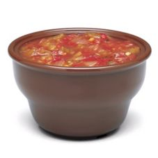 Carlisle® 455328 8 Oz. Lennox Brown Deep Salsa Bowl - 36 / CS