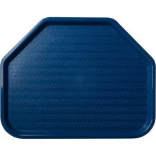Carlisle® Cafe Trapezoid Tray, Blue