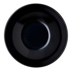 Carlisle® 575B03 13 Oz. Black Salad Bowl - Dozen