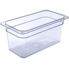 Carlisle® 1026207 TopNotch® 5.7 Qt.Clear 1/3-Size Food Pan