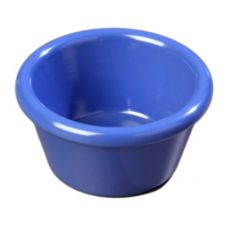 Carlisle 85214 2 Oz. Ocean Blue Smooth Ramekin - Dozen