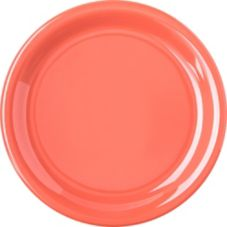 "Carlisle 4300852 Durus 6-9/16"" Sunset Orange Pie Plate - Dozen"