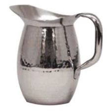 Polar Ware T9157 S/S Hand Hammered Bell Shape 2 Qt Pitcher