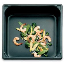 """Vollrath 70662 SuperPan V Non-Stick S/S 1/6 Size x 6""""D Food Pan"""