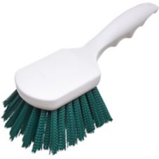 "Carlisle 4054109 Sparta Spectrum 8"" Green Utility Scrub Brush"
