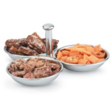 Vollrath® 46636 3-Compartment S/S 12 Oz. Condiment Server