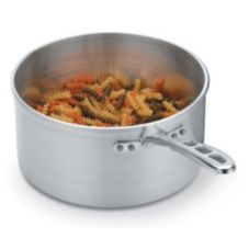 Vollrath 69402 Wear-Ever 2.5 Qt. Aluminum Sauce Pan with Plated Handle